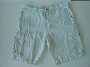 """TOMMY BAHAMA MENS RELAXED FIT CARGO LINEN SHORTS - SIZE 38"""" (97 CM'S)"""