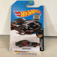 Nissan Fairlady Z * 2017 Hot Wheels SUPER Treasure Hunt * FACTORY SET *A19