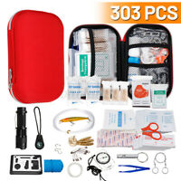 SOS Emergency Survival Equipment Kit Outdoor Sports Tactical Hiking Camping NEW