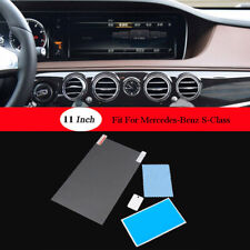 GPS Screen Film Protector Navigation Tempered Glass Film For Mercedes S-Class