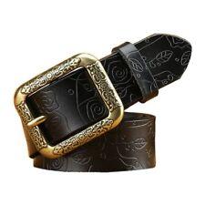 Fashion womens belt for jeans girl belt 100%Genuine Leather Belts size 90-120cm