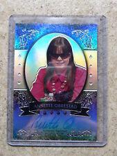 2011 Leaf Razor Poker Metal Base Auto Prismatic Parallel ANNETTE OBRESTAD /25