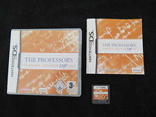 DS : THE PROFESSOR'S : BRAIN TRAINER LOGIC - Completo, ITA ! Comp 3DS e 2DS