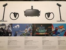 Oculus Rift Virtual Reality Headsets with Touch Controllers And Sensors