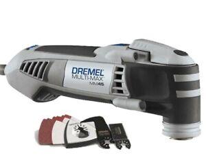 Dremel MM45 Tool 120V Multi-Max Oscillating + 15 Piece Multi-Tool Kit MM45-DR-RT