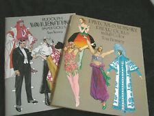 Vintage Paper Doll Book Tierney Valentino Pavlova Nijinsky Ballet Lot 2
