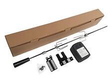 Extra Quiet motor Barbacoa Barbacoa Asador Spit Kit Universal - 36 pulgadas