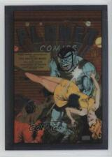 1995 Comic Images The Golden Age of All-Chromium #28 Planet Comics #13 Card 0f8