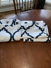2  NEW Liz Claiborne Curtains 92 Inches Long 50 Inches Wide