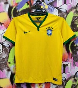 Brazil National Football Team Soccer Jersey Maglia Camisa Nike Youth XL/Mens XS