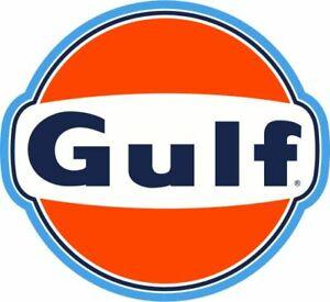30x28cm Gulf Youngtimer Tuning Racing STICKER AUFKLEBER - Gasoline USA