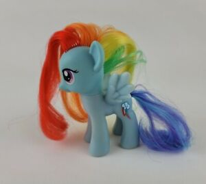 My Little Pony Rainbow Dash Figure Hasbro 2010 Blue Wings