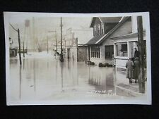 Apollo, Pennsylvania PA March 18, 1936 Flood North Fifth Street RPPC Postcard