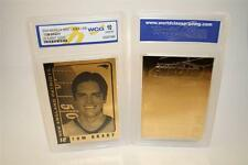 TOM BRADY 2004 Laser Line Gold Card NE Patriots NFL Graded GEM MINT 10 * BOGO *