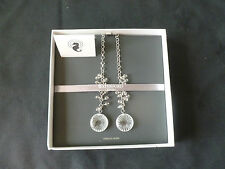 Waterford Crystal Sterling Silver Maeve Starburst Lariat Necklace Boxed New