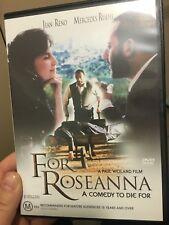 For Roseanna region 4 DVD (1997 Jean Reno comedy drama movie) * rare *