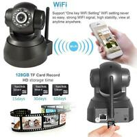 P2P Wireless IP Camera WiFi Surveillance Night vision IR Webcam CCTV Black US UP