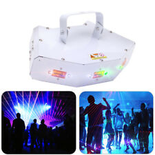 6 Lens Beam RGB Laser Pattern Stage Lighting 200mW DMX512 DJ Wedding Party Club