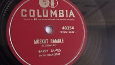 Harry James - 78rpm single 10-inch – Columbia #40354 Muskat Ramble & The Touch
