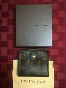 Authentic LOUIS VUITTON Zippy Wallet Coin Purse Monogram Canvas
