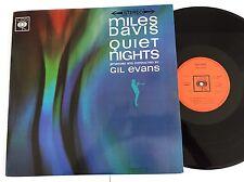 Miles Davis ' Quiet Nights ' Gil Evans Original Stereo CBS 1963 Great Copy !!