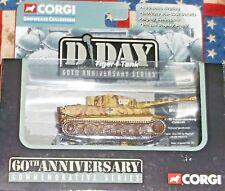 2004 Corgi D-Day 60th Anniversary Series Tiger I Tank SS Panzerabteilung 101 Die
