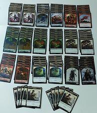 MTG Magic: The Gathering Lot of 100 Tokens: 10/ea Goblin Spirit Warrior Vampire