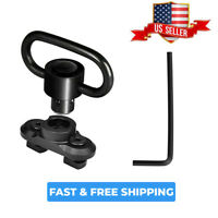M-LOK Heavy Duty QD Sling Mount Swivel With Quick Detach Push Button Interface