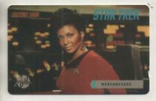 "Star Trek TOS Mercury Phonecard ""Lt. Uhura"""