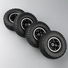"Set of 4 Rumber Rock Crawler 1.9"" Tires Wheels 12mm Hex For RC 1/10 Car Truck"