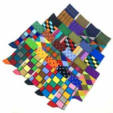 Men socks colorful cotton geometric happy sock US 7.5-12
