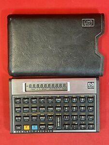 Vintage 1987 Hewlett Packard HP-11C Calculator