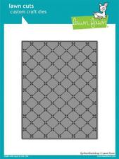 "Lawn Fawn Die ""QUILTED BACKDROP"" Background Lawn Cuts Steel Dies"