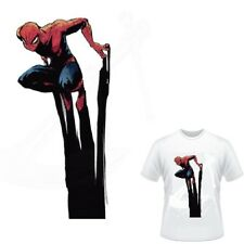Spiderman shadow IRON ON HEAT TRANSFER t-shirt decal