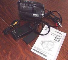 Panasonic Palmcorder Palm Sight Video Camera PV-L501D