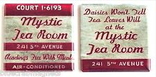 Mystic Tea Room Fridge Magnet Set (2 x 2 inches each)