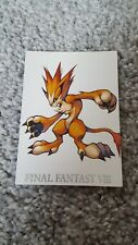Final Fantasy VIII 8 Perfect Visual Card number 25 triple triad