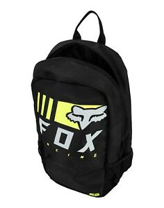 FOX RACING MENS KIDS YOUTH BLACK BACK PACK OVERKILL SCHOOL OVERNIGHT LUGGAGE