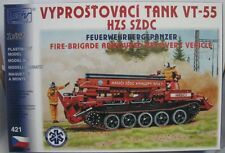 SDV Plastic Model Kit 1/87 H0 Fire-brigade Armoured Recovery Vehicle VT-55