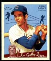 2008 Upper Deck Goudey SP Short Print Mini Ernie Banks Chicago Cubs #209
