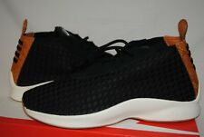 a6c9efc69f68 Nike HTM Air Woven Boot Shoes Black with Snakeskin Leather Men s 9 BNIB  170