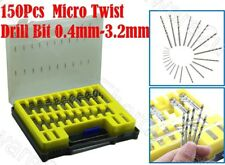 150PCS Mini Micro HSS Twist Drill Bit Set 0.4-3.2mm (MDS150-0432)