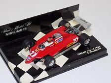 1/43 Minichamps Ferrari F1 126 C2 1982 G. Villeneuve