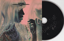 "CD CARTONNE CARDSLEEVE COLLECTOR 4T SWANN SHOW ME YOUR LOVE ""EP"" 2012"