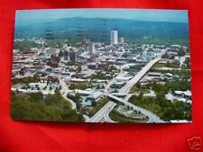 GREENVILLE SC 1972 VINTAGE AERIAL VIEW BUSINESS SECTION