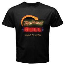 New Kings Of Leon Mechanical Bull Pop Rock Music Men's Black T-Shirt Size S-3Xl
