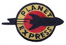 """Planet Express Logo 4 1/2"""" Wide Embroidered Patch"""