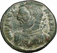 LICINIUS I Constantine I the Great enemy Ancient Roman Coin NUDE JUPITER i34072