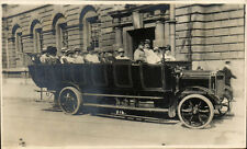 Bath. Charabanc by Arthur Stone, Maple Grove, Bath. Card # 216.