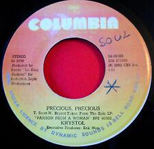 "Krystol Precious Precious JA 7""Soul Columbia b/w Baby Make Your Mind Up VINYL"